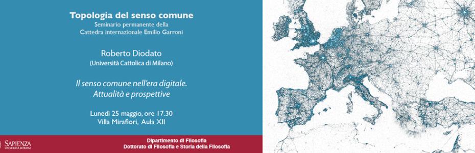 Topologia del senso comune - Roberto Diodato - Il senso comune nell'era digitale