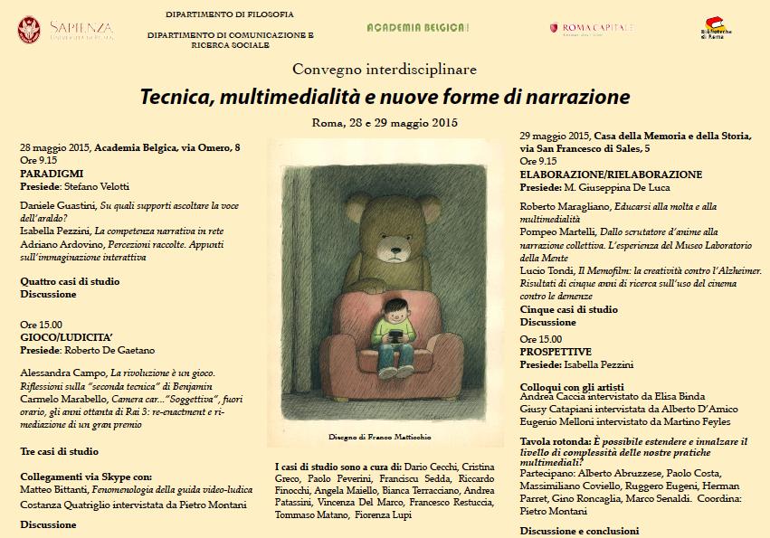 Tecnica, multimedialità e nuove forme di narrazione