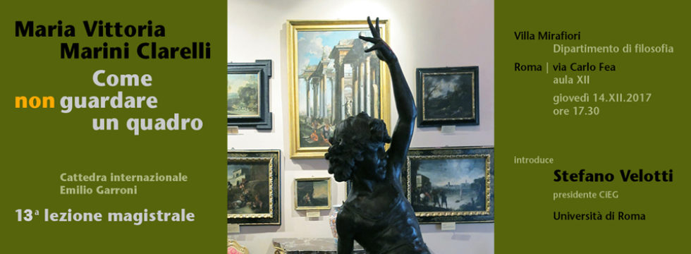 Maria Vittoria Marini Clarelli - Come non guardare un quadro