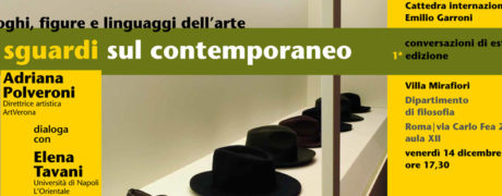 Conversazioni di Estetica CIEG - I Edizione - 2018